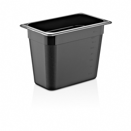 GN PC BLACK CONTAINERS GNP-13200/B