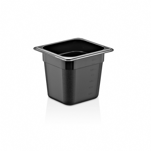 GN PC BLACK CONTAINERS GNP-16150/B