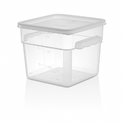 PP SQUARE STORAGE CONTAINERS GSPP-6