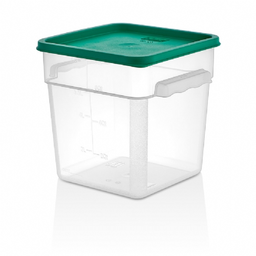PP SQUARE STORAGE CONTAINERS GSPP-8