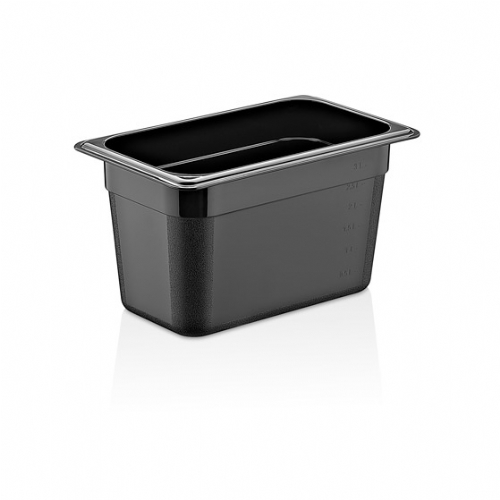 GN PC BLACK CONTAINERS GNP-12200/B