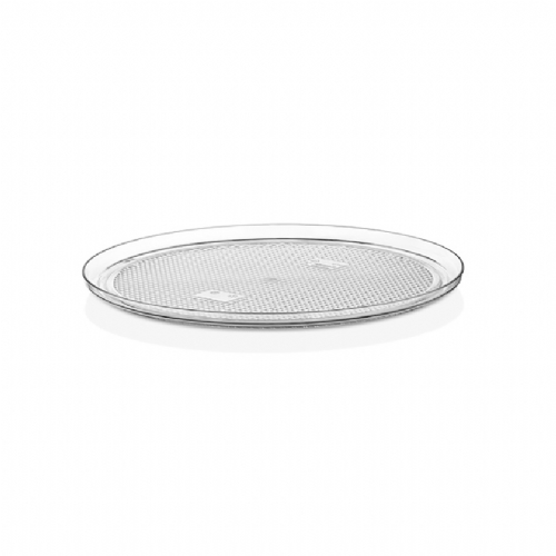 GFT-13 / DOME COVER ROUND TRAY CLEAR