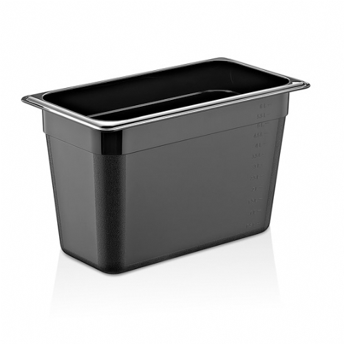 GN PC BLACK CONTAINERS GNP-14200/B