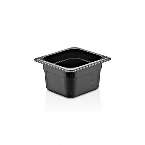GN PC BLACK CONTAINERS GNP-16100/B